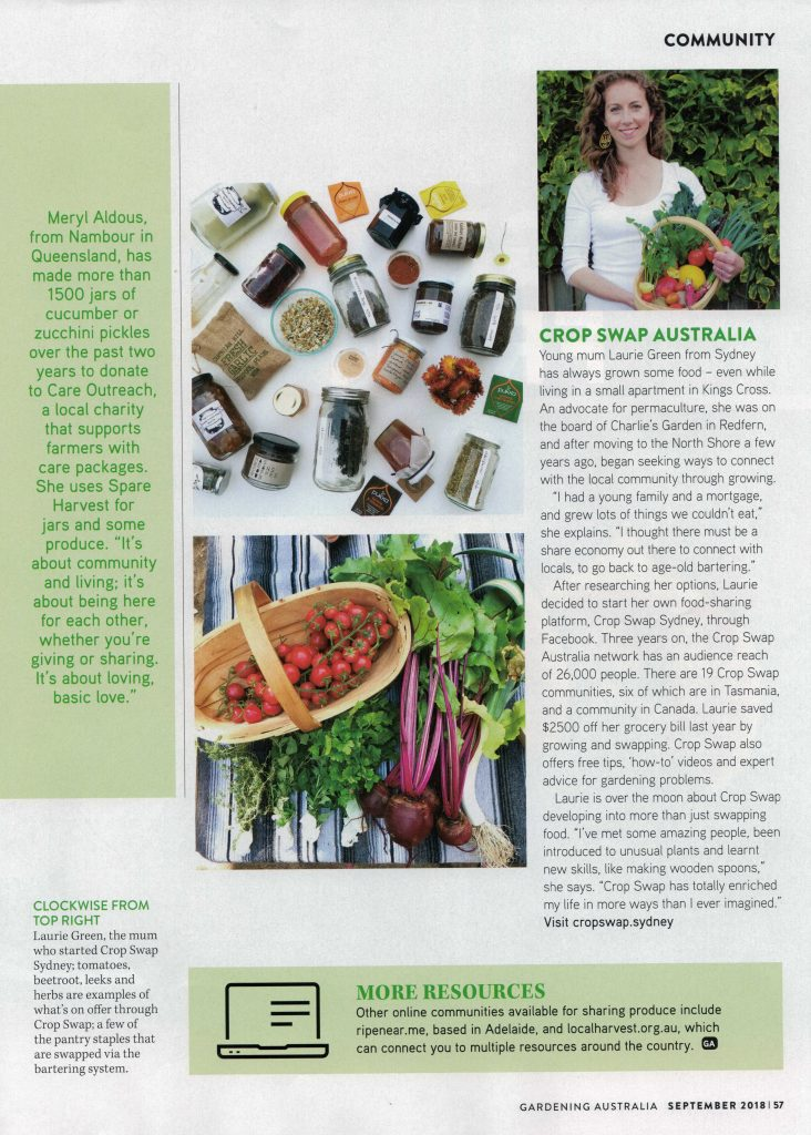 Gardening Australia story with Spare Harvest Page 4
