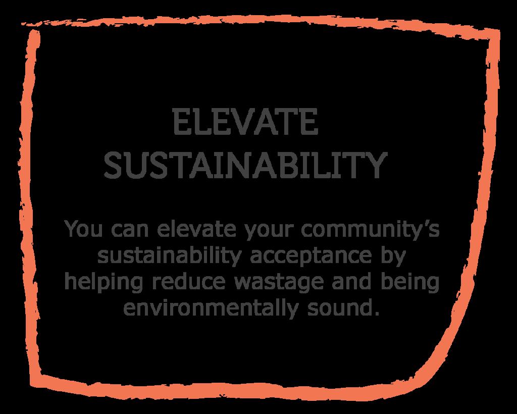 Spare Harvest Community Partnership benefits: Elevate sustainability, Community sustainability initiatives, sustainable community environments, UN SDG, UN Sustainable Development Goals