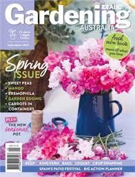 Gardening Australia Mag Cover