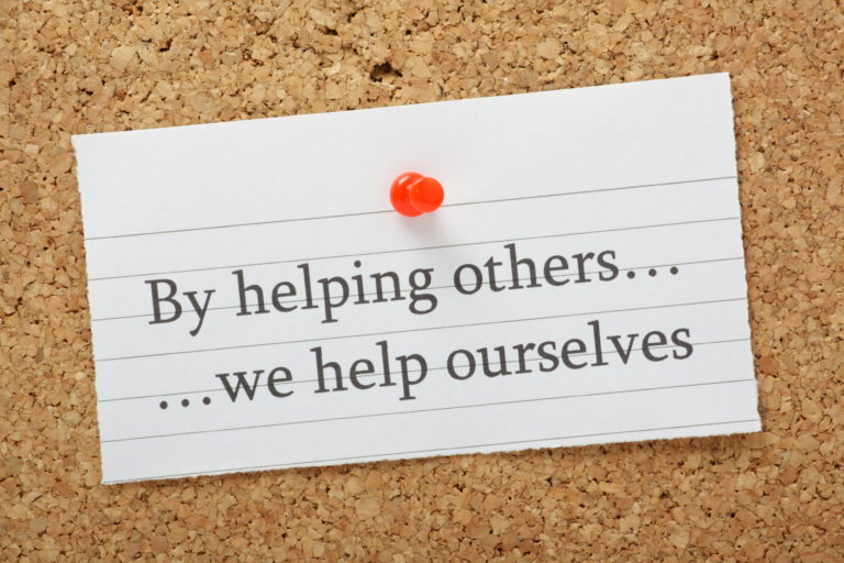 Helping Others Noticeboard